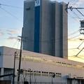 JR春日井駅南口に建設中の高層マンション(2021年2月14日) - 1