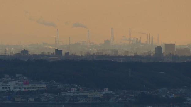 西高森山山頂から見たどこかの工場 - 1