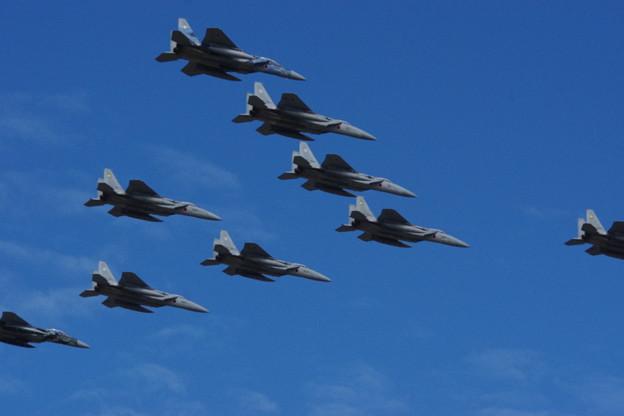 F-15DJ・大編隊