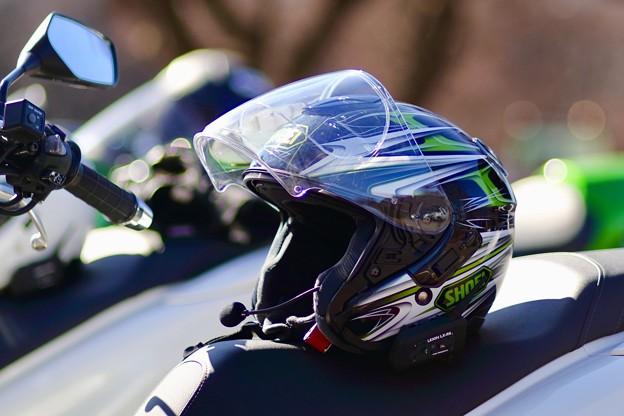 ヘルメット新調しました