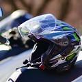 写真: ヘルメット新調しました