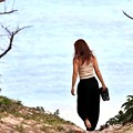 Photos: 座間味島でおねーさん