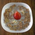 Photos: 朝食のコーンフレーク。
