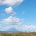 写真: 空と大地にバンザーイ