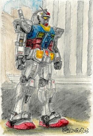 20180723ガンダムRX-78