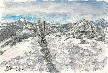 20190614横岳山頂