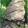 20200824窓ヶ山第二スラブ上部岩