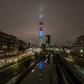 写真: パラリンピック ライトアップ 2