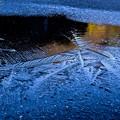 Photos: 凍結注意