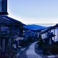 Photos: 朝の宿場町(馬籠宿)