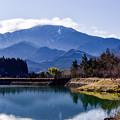 Photos: 水と山