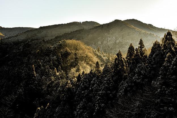 Photos: 山と光