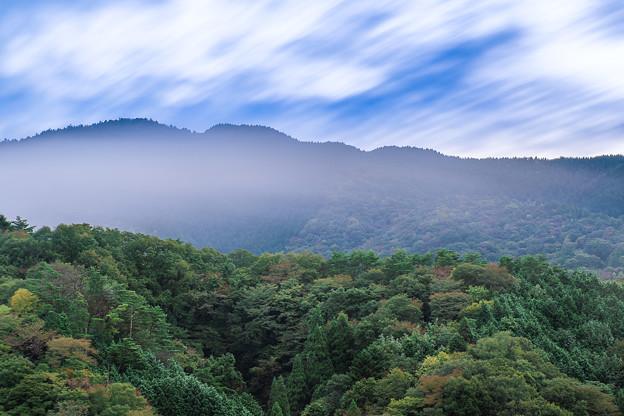 Photos: 霧と山