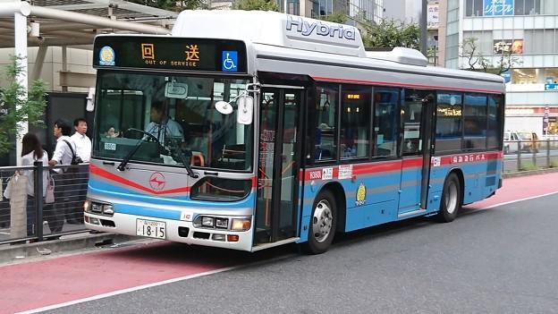 京浜急行バス@川崎駅東口バスターミナル