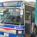 写真: 川崎鶴見臨港バス フルカラーLED表示器 導入開始!