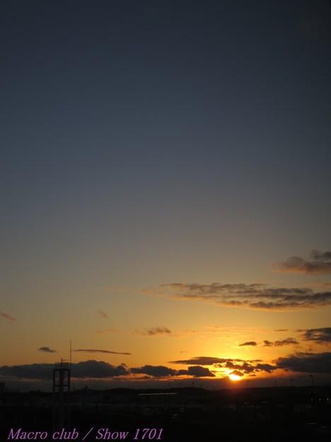 2018.01.24 の夕焼け 010
