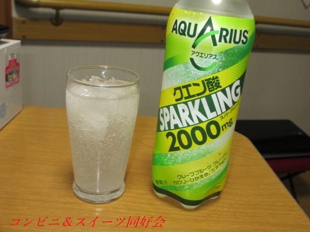 アクエリアススパークリングクエン酸2000