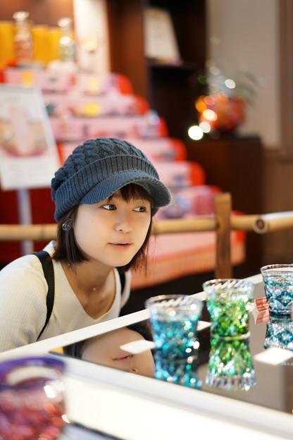 薩摩切子に魅せられて。