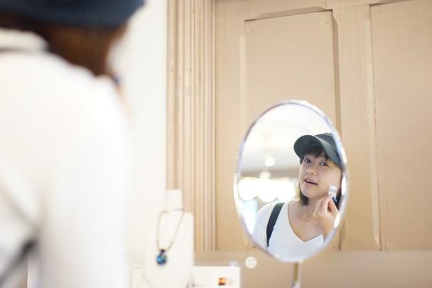 鏡よ鏡よ鏡さん!