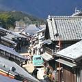 東海道関宿の風景