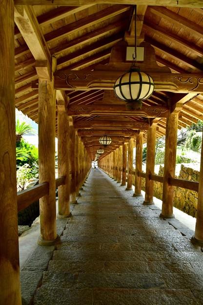 長谷寺 登廊(のぼりろう)重要文化財