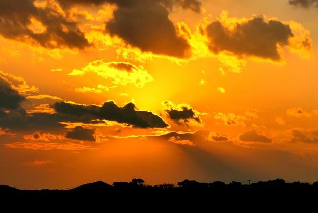 志摩市英虞湾の夕陽