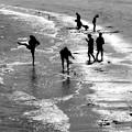 Photos: 浜で遊ぶ