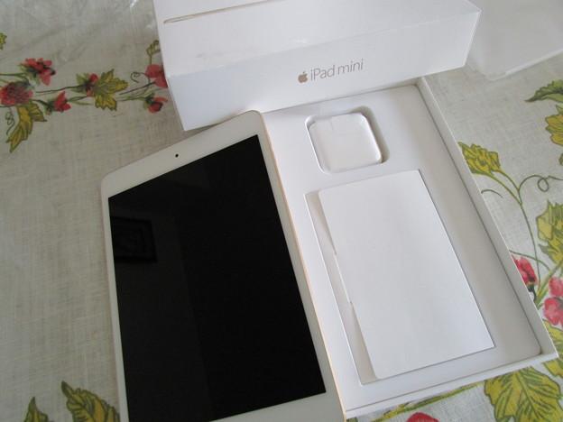 iPad mini 4 Wi-Fiモデルを買った(≧∇≦)ノ彡