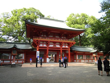 氷川神社の楼門
