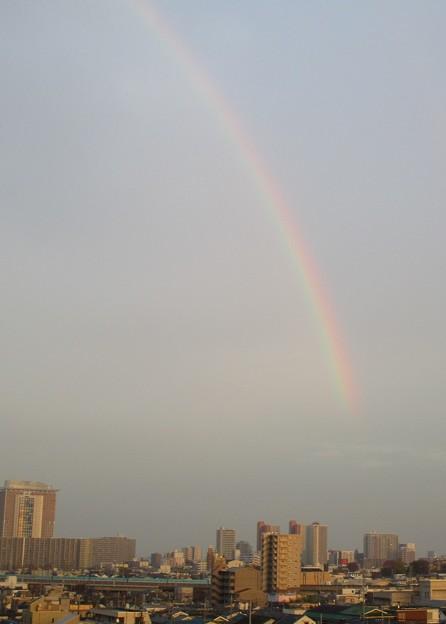 12/3の虹