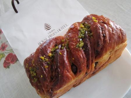 クルミ入りのパン