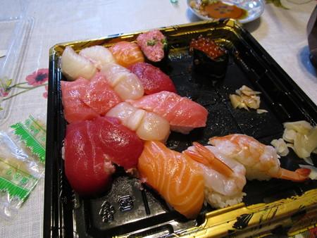 角上の寿司