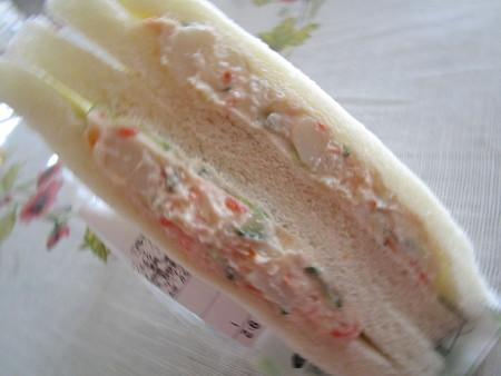 ファミマのポテトサラダサンド