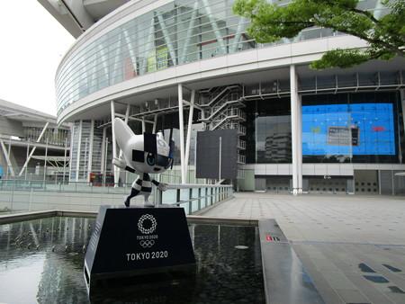 東京2020マスコットのミライトワ