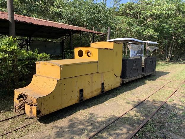 新平溪炭鉱博物館トロッコ1