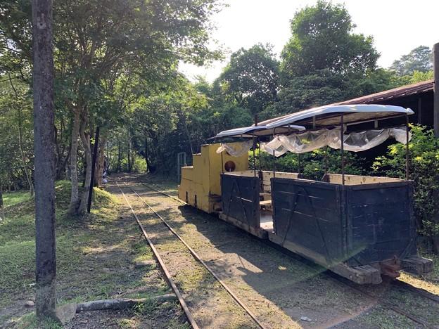 新平溪炭鉱博物館トロッコ2