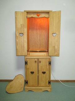 スリム仏壇スライドテーブル