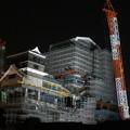 写真: 夜の熊本城