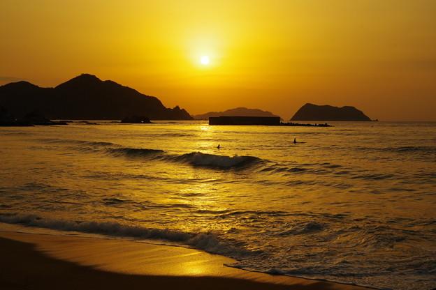 萩 西の浜
