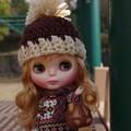 Photos: 暖か帽子