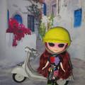 防寒対策ばっちりヘルメット