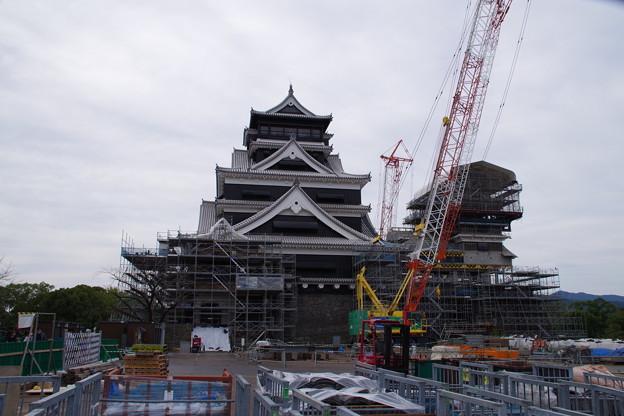 復興のシンボル 熊本城天守閣