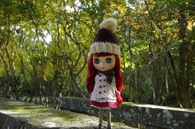 手編みの帽子&マフラー