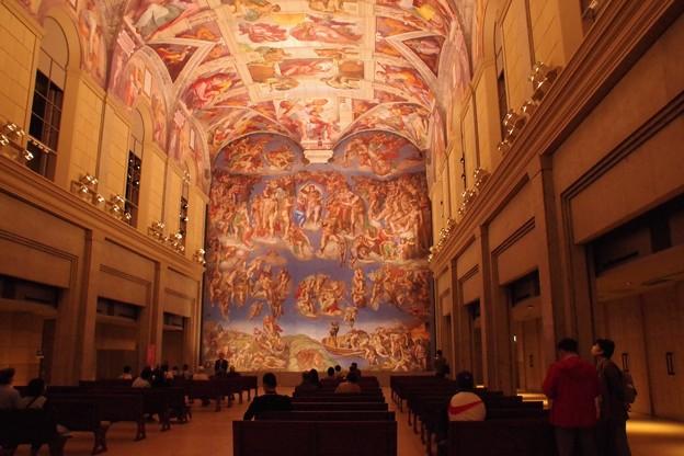 大塚国際美術館 システィーナ礼拝堂