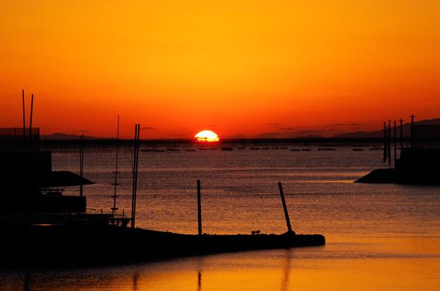 Photos: 有明の海