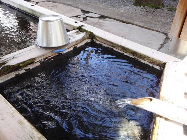 写真: 沓掛温泉 洗い場2
