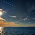 Photos: 飛行機雲