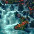 水音と紅葉