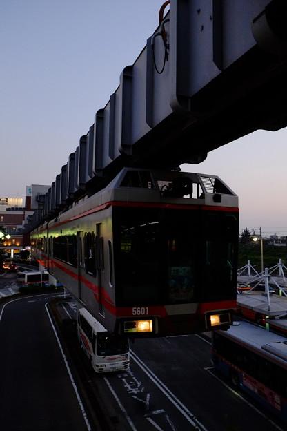 湘南モノレール大船駅にて