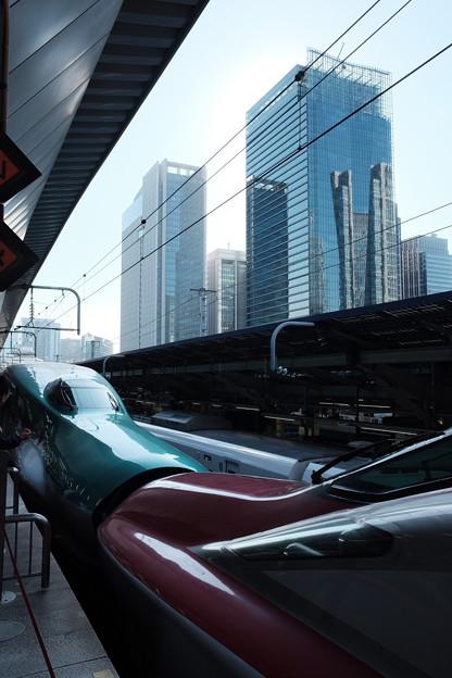 Photos: 新幹線E5系とE6系